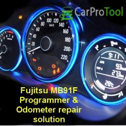 Fujitsu MB91F Programmer & ODOmeter repair solution