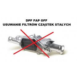 Usuwanie filtra DPF FAP
