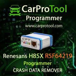 Renesas R5F64219 /R5F2154AE Programmer CRASH DATA Remover. Aktywacja dla CarProTool-a.