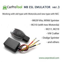 STEERING LOCK ESL EMULATOR FOR MERCEDES BENZ, DODGE, VW v3.1