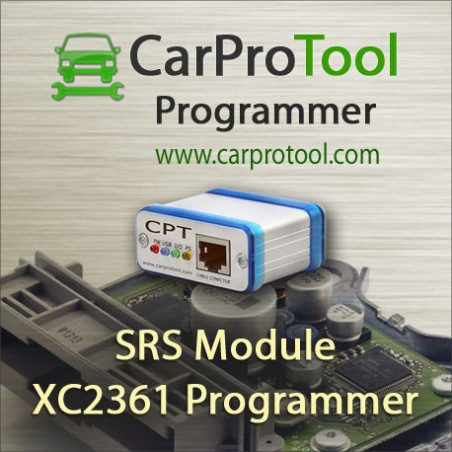 Infineon XC2361 JTAG Programmer. Activation for CarProTool.