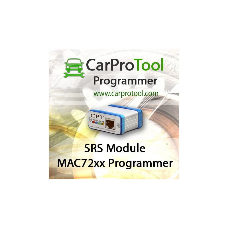 MAC72xx Programmer. Activation for CarProTool. Crash data repair.