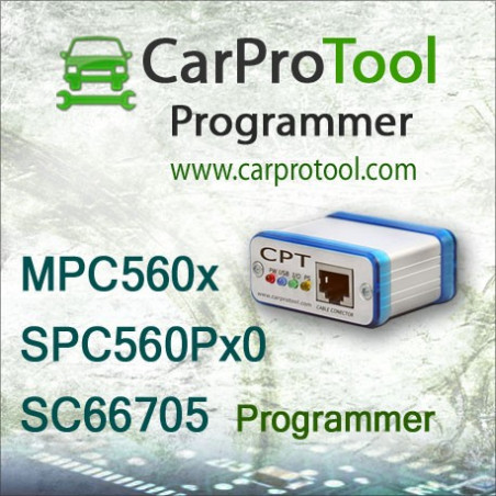 Freescale MPC560x / SC66705 / ST SPC560Px0 programmer. Activation for CarProTool.