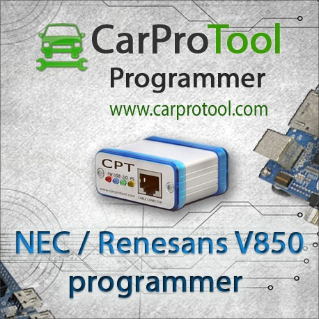 Renesas NEC V850 Programmer
