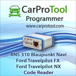 Blaupunkt RNS 310 / Ford Travelpilot FX NX [OMAP5948] Code Reader. Aktywacja dla CarProTool