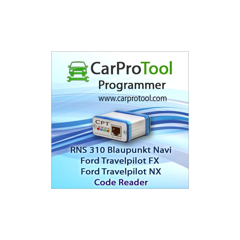 Blaupunkt RNS 310 / Ford Travelpilot FX NX [OMAP5948] Code Reader. Activation for CarProTool
