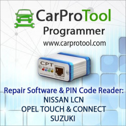 NISSAN LCN EU / OPEL TOUCH & CONNECT / SUZUKI Decoder. Activation for CarProTool