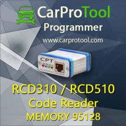 RCD 310 / RCD 510 Code Reader. Aktywacja dla CarProTool.