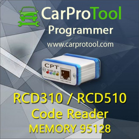 RCD 310 RCD 510 Code Reader. Activation for CarProTool