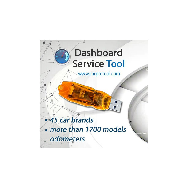 Dashboard Service Tool. Activation
