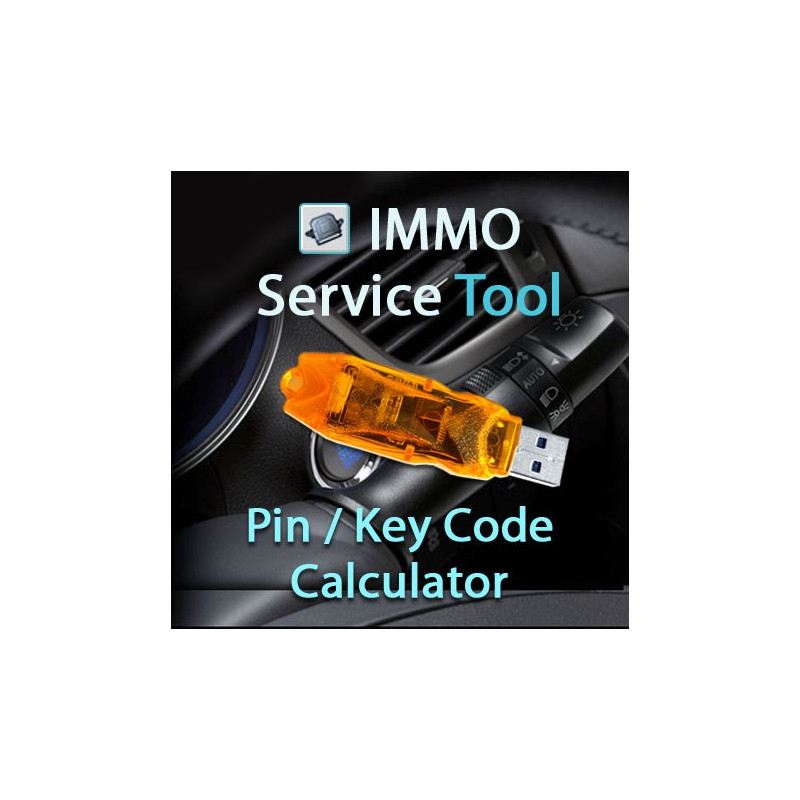 Immo Service Tool. Activation