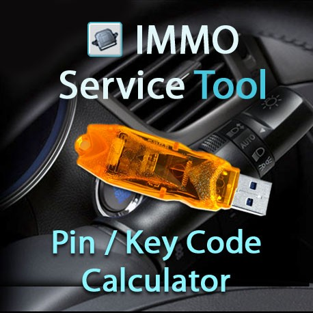 Immo Service Tool  Pin Code Calculator  Key Code Calculator