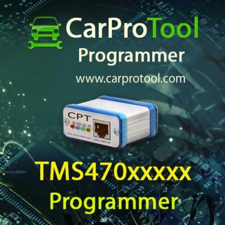 TMS470 Programmer. Aktywacja dla CarProtool