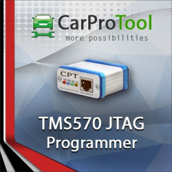 TMS570  JTAG Programmer. Activation for CarProTool.