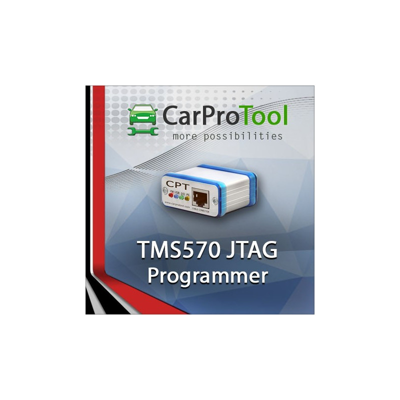 TMS570LS1113 JTAG Programmer. Activation for CarProTool.