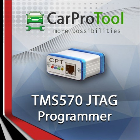 TMS570  JTAG Programmer. Activation for CarProTool.