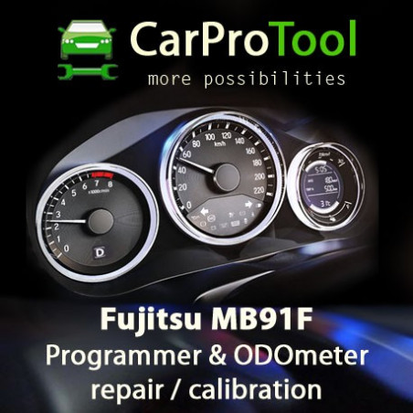 Fujitsu MB91F Programmer & ODOmeter repair solution