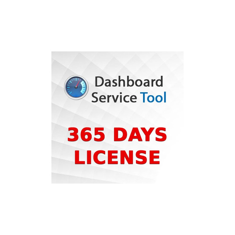 Dashboard Service Tool 365 days license