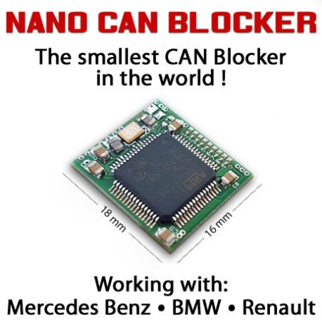 NANO CAN Blocker MERCEDES BENZ , BMW, RENAULT