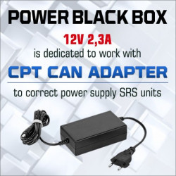 POWER BLACK BOX 12V 2.3A