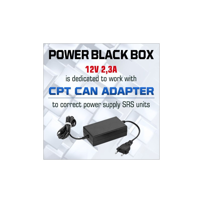 POWER BLACK BOX for CPT CAN ADAPTER