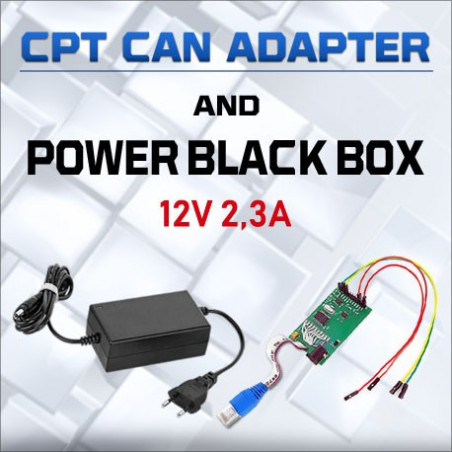 CPT CAN ADAPTER + POWER BLACK BOX