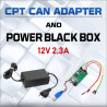 CPT CAN ADAPTER + BLACK POWER BOX