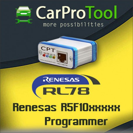 Renesas RL78. Activation for CarProTool.