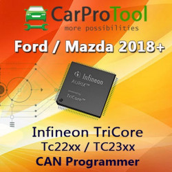 CPT CAN PACK1 Ford/Mazda 2018+ Infineon TriCore Tc22xx / TC23xx OBD2 CAN Programmer