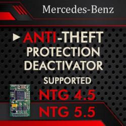 MERCEDES-BENZ COMAND NTG 4.5  NTG 5.5  ANTI-THEFT DEACTIVATOR