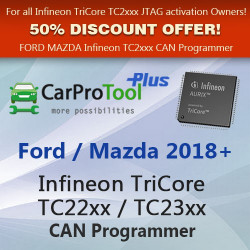 Ford/Mazda 2018+ Infineon TriCore Tc22xx / TC23xx OBD2 CAN Programmer