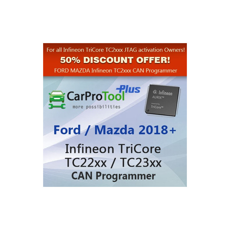 Ford Mazda TriCore TC2xxx by CAN