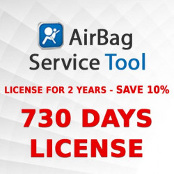 Airbag Service Tool 730 days (2 YEARS) license