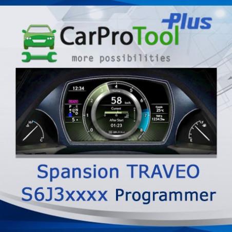 Spansion TRAVEO S6J30xx ( S6J3001LSJ, S6J3003KSE, S6J32BAKSE ) Programmer