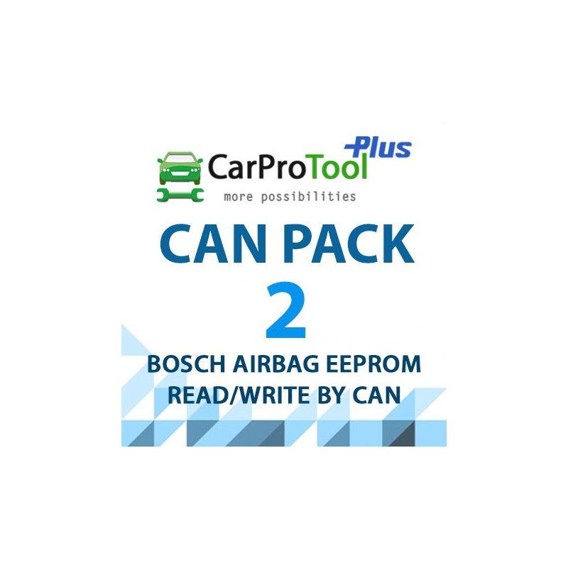 CPT CAN PACK 2 - BOSCH SRS UNITS BY CAN