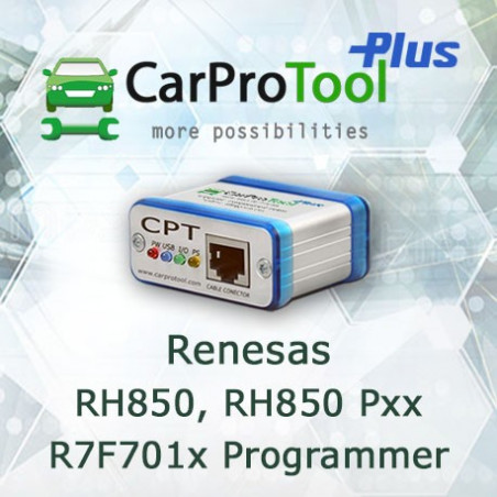 Renesas RH850, RH850Pxx  R7F701x Programmer. Activation for CarProTool Programmer.