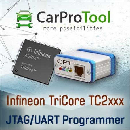 INFINEON TC2XXX JTAG / UART PROGRAMMER